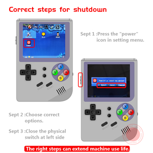 Image 5 - New RG300 version 2 Video games Portable Retro FC console Retro Game Handheld Games Console Player RG 300 3000 GAMES Tony system