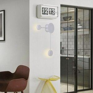Image 3 - Lámpara de pared postmoderna, sencilla, led, pared de salón, dormitorio, cabecera, pasillo creativo, salón de exposición de hotel, Iluminación del pasillo