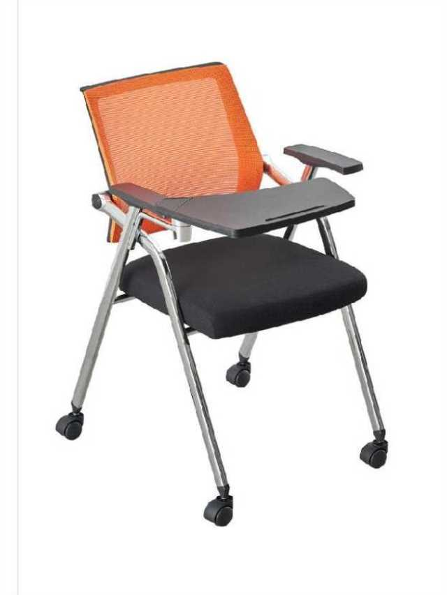 Folding With Writing Board Conference Chair Student Table And Chair One Meeting Room Chair With Table Board Training Chair