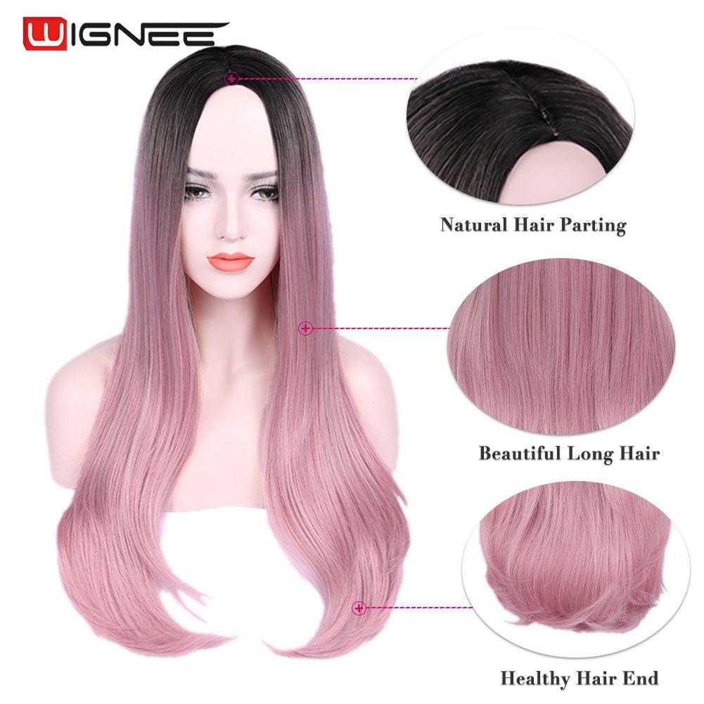 marrom peruca feminina natural azul