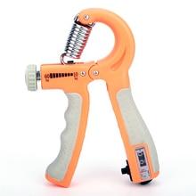 R-образный ручной захват Регулируемый контурный захват для упражнений с счетчиком Прочный ручной инструмент для фитнеса