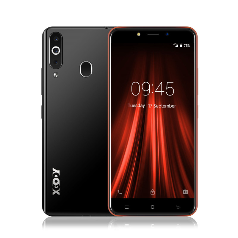 "XGODY K20 Pro 5.5 ""Smartphone Android 6.0 çift SIM cep telefonu MTK6737 dört çekirdekli 2GB 16GB 2300mA wiFi 4G cep telefonları"
