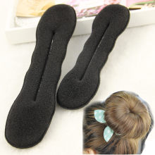 Quality Women Magic Foam Sponge Foam Twist Hair Disk Hairs Band Tool Quick Messy Bun Updo Headwear Accessories