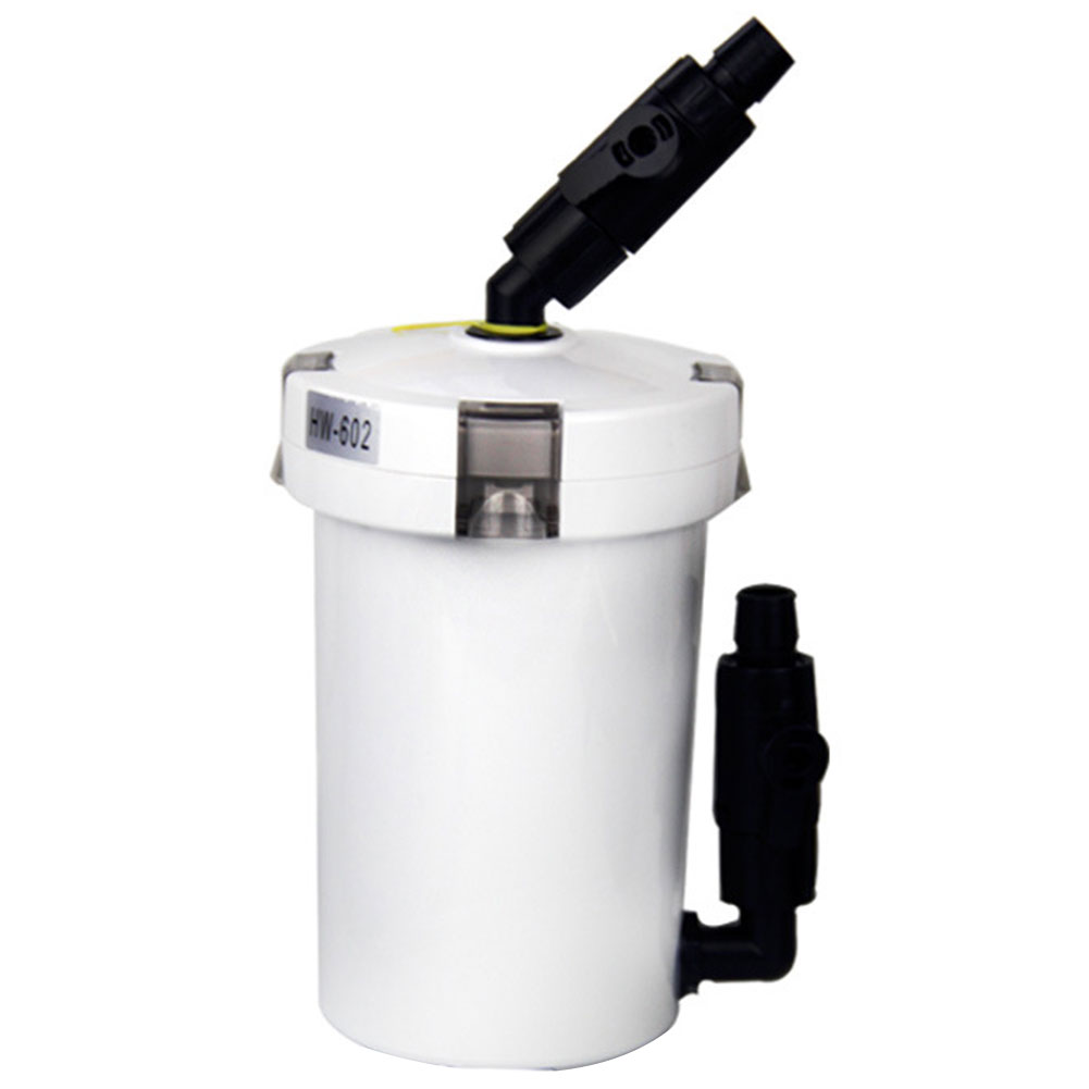6W 400L/h Fish Tank Filtration System Home Table Top Water Purifying Tools Outer Aquarium Mini External Canister Filter Pump image