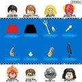 Строительные блоки, фигурки героев мультфильмов, Подарочные игрушки для детей KF6104