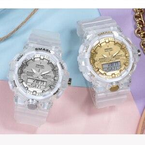 Image 5 - Spor İzle kadınlar reloj mujer su geçirmez 30M kronometre çalışan saat alarmı 8025 siyah saatler instagram bayanlar kol saatleri yeni
