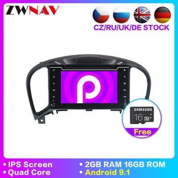 Android 9.1 Car Radio Multimedia Video Player For Nissan Juke Infiniti ESQ 2012-2017 BT GPS Navi 2din 2din car stereo head unit