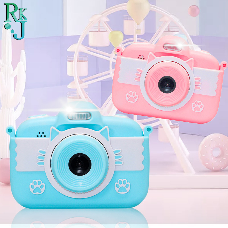 3.0 Inch Children Camera Kids Toy Camera Full HD Digital Camera With Silicone Case LCD Screen Display educational toys gifts