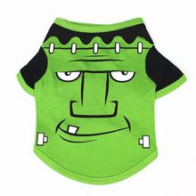 Смешная одежда для собак четыре сезона футболка с мультяшным
