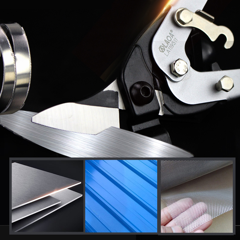 Tools : LAOA Tin Snips Cr-Mo Aviation Scissors Tin Shears  Pvc Pipe Cutter Scissors