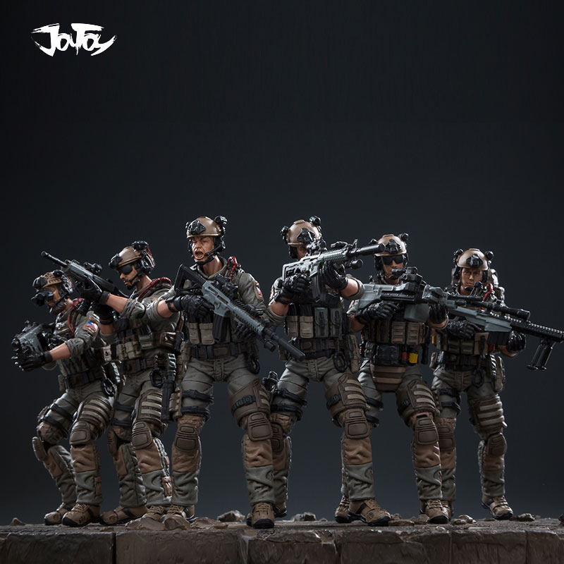 1/18 JOYTOY Action Figure US Navy Seals Team Army Soldier Figures Collectible Toy Military Model Auction Christmas Gift Present
