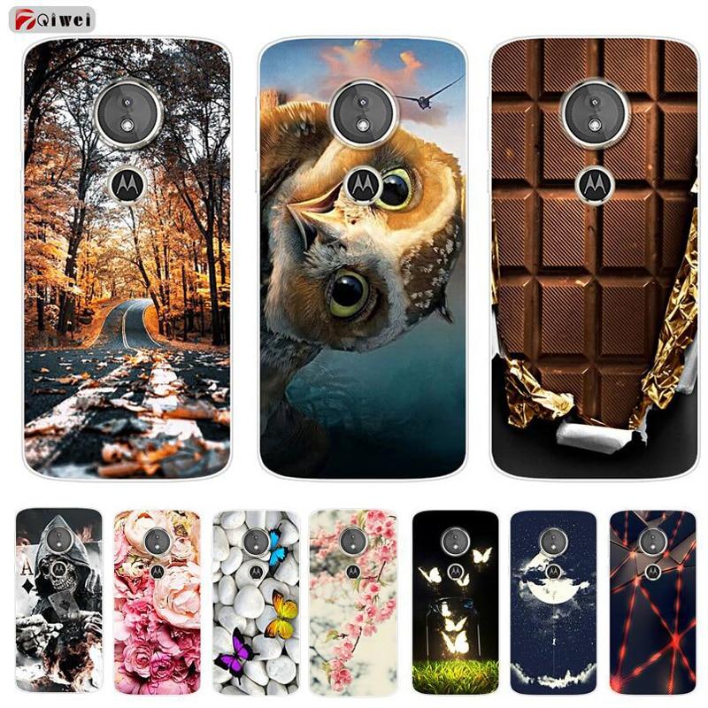 For Moto E5 Play Case TPU Soft Silicone Clear Back Cover Para For Motorola Moto E5 / E5 Plus / E5 Play Case E5plus E5play E 5