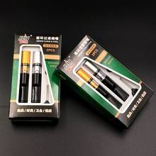 SUEF Tobacco Cigarette Filter Mouthpiece Reduce Tar Cigarette Portable Creative Holder Reusable Cleaning Smoking Tool @1(China)