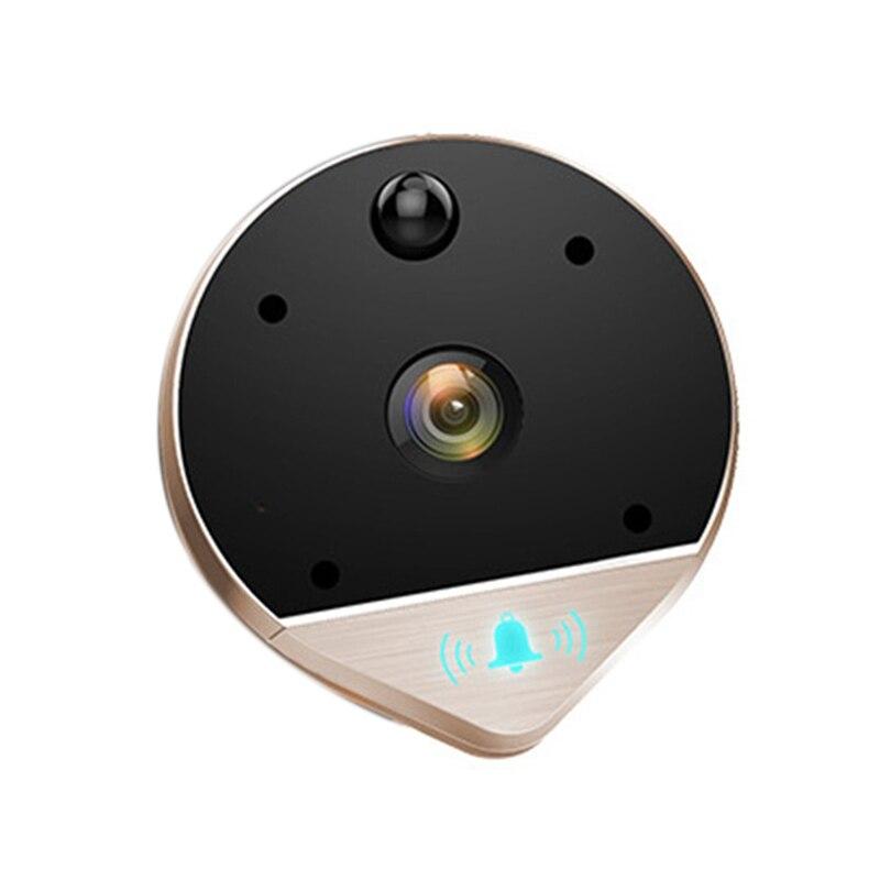 Anti-vol grand Angle judas Smart vidéo Wifi sans fil sonnette surveillance à distance visuel infrarouge détecteur interphone électronique