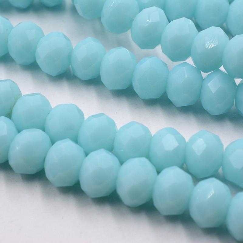 4 мм 140 шт./лот бусины из кристаллов, граненые круглые стеклянные бусины - Цвет: 177