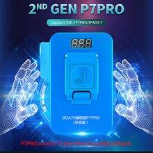 Jcid p7 pro 1000s multi função hdd nand programador bga70 nand para telefone 5se 7 p pro para lpad 5 7 nand conserto de teste