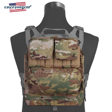 emersongear Emerson Back Pack By Zip Panel FOR AVS JPC2.0 CPC Tactical Vest Plate Carrier Combat Airsoft Gear