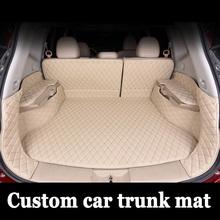 Niestandardowe dopasowanie maty bagażnika samochodu dla Toyota Camry Corolla RAV4 Mark X Verso FJ Cruiser 6D samochód stylizacji dywan dywaniki wkładki tanie tanio SUNNY LISA Z włókien syntetycznych