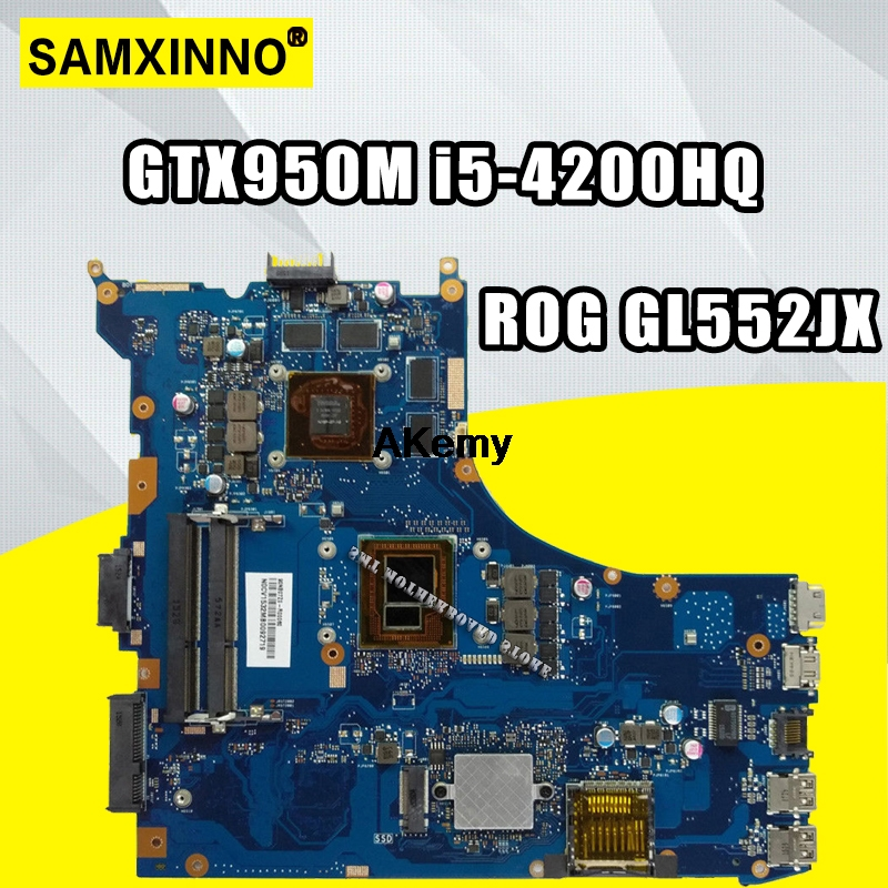 GL552JK ASUS GTX950M I5-4200hq Laptop for Gl552j/Gl552/Gl552jk/Zx50j Mainboard 2GB