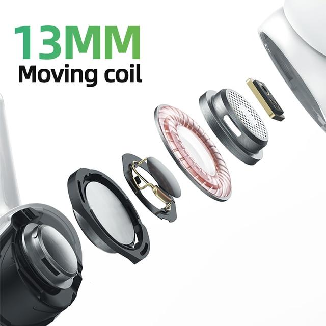 New wireless earphone Joyroom T03S Pro TWS Bluetooth Earphones Noice Cancelling True Wireless Earbud In-Ear Universal 360mAh