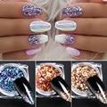 От BORN PRETTY-блеск для ногтей, AB декорация для ногтей градиент Pingment блестящие хлопья Ослепительная блестящие, для дизайна ногтей украшение для ...