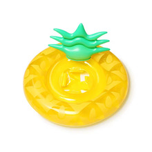 Baby Pineapple Swimming Float Seat Inflatable Pool Float Summer Water Fun Pool Toys Kids Gifts Lifebuoy Swimming Ring 0-4 year 2019 baby swimming ring water circle baby float inflatable summer kids float seat swimming baby float pool water fun toys