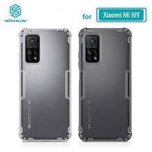 Nillkin-funda transparente para Xiaomi Mi 10T Pro, carcasa transparente de TPU suave para Xiaomi Mi 10T Lite 5G