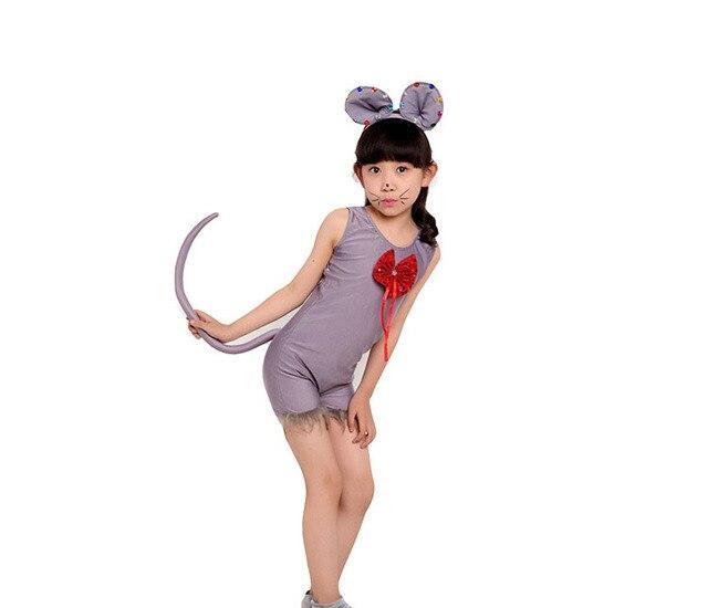 Child Costumes Kids boys girl Rat Mouse Cosplay Fancy Dress Animal Halloween Christmas Costume Jumpsuit Christmas Xmas Halloween