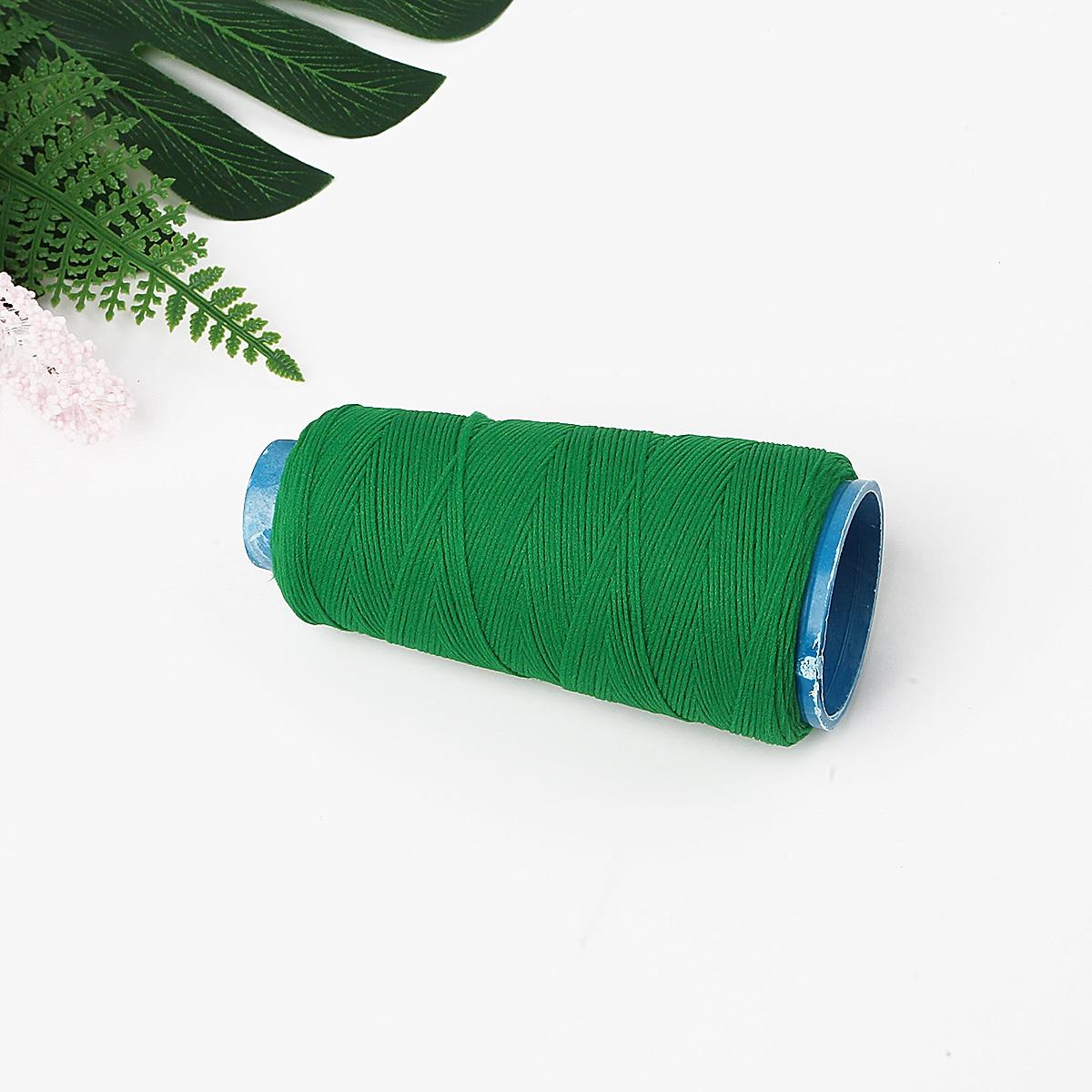 Green Shirring Elastic approx 20 metres