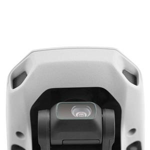 Image 3 - 2PCS protezione dellobiettivo della fotocamera per DJI Mavic Mini/Mini 2 Drone Kit di accessori protettivi per pellicola in vetro temperato antigraffio HD