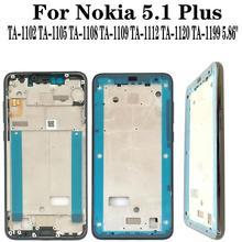 Shyueda Orig New For Nokia 5.1 Plus X5 TA-1102 TA-1105 TA-1108 TA-1109 TA-1112 TA-1120 TA-1199 Front Middle Housing Frame Bezel ta sports