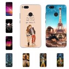 For Xiaomi Mi A1 Case Silicon Cover 5X Animal Funda Xiomi Xioami Mia1 Mi5x Phone Cases