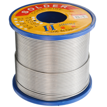 цена на 1Pcs 60/40 Tin lead Solder Wire 1.0mm Rosin Core Soldering Roll 2% Flux Reel Solder Soldering Wire 400g Welding Line