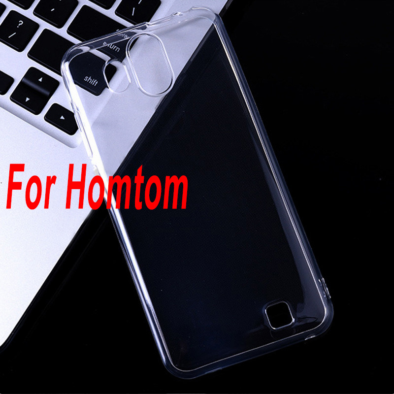 Soft TPU Clear Case For <font><b>Homtom</b></font> S16 S 16 5.5 inch Shell for <font><b>Homtom</b></font> HT70 HT <font><b>70</b></font> Transparent Cover Case Fundas image