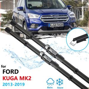 for Ford KUGA 2013~ 2019 Mk2 Escape Car Wiper Blades Front Window Windscreen Windshield Car Accessories 2014 2015 2016 2017 2018(China)