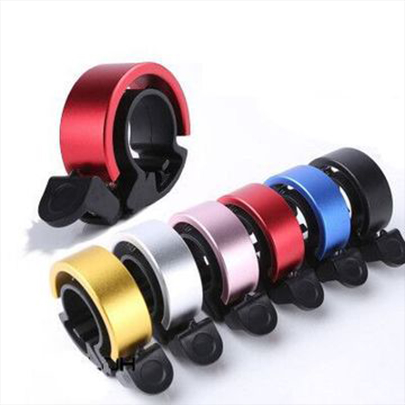22.2-22.8mm Bike Bells Aluminum Invisible Bicycle Bell Ring Q Design Handlebar Alarm Ring Bike Accessories
