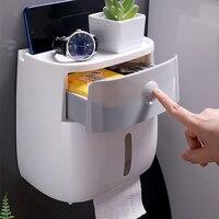 Waterproof Toilet Paper Holder Creative Paper Towels Holder For Kitchen Bathroom Toilet Paper Storage Box Toilet Roll Holder