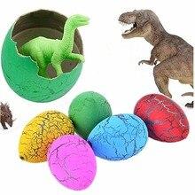 6 шт./лот, новинка, вода, инкубация, надувание, динозавр, яйца, игрушки, сюрприз, яйца, развивающие игрушки, интересный подарок, модель динозавра