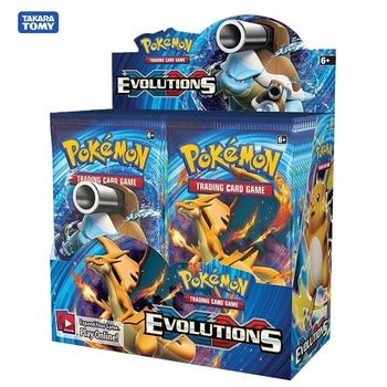 324Pcs/box Pokemon card Sun & Moon Evolutions Hidden Fates Booster Box Collectible Trading Card Game Pokemon Booster GX EX tag new pokemon sun