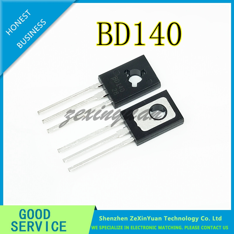 50PCS/LOT BD140 140 PNP 1.5A/80V TO-126 POWER TRANSISTORS