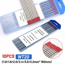 Tungsten Electrodes Welding-Rods TIG WT20/WL20 10PCS 150mm