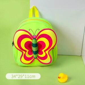 Image 3 - NOHOO Waterproof Children School Bags Cartoon Butterfly Toddler School Backpacks For Teenage Girls Pre School Bag Kids Backpack