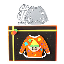 Eastshape Sweater Christmas Dies Metal Cutting Dies New 2019 for Card Making Scrapbooking Embossing Die Cut Stencil Craft Dies usb and micro usb two in one colorful mini phone fan green