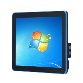 New J1900 4G 64G SSD 15 inch capacitive multi touch screen all in one PC have Base