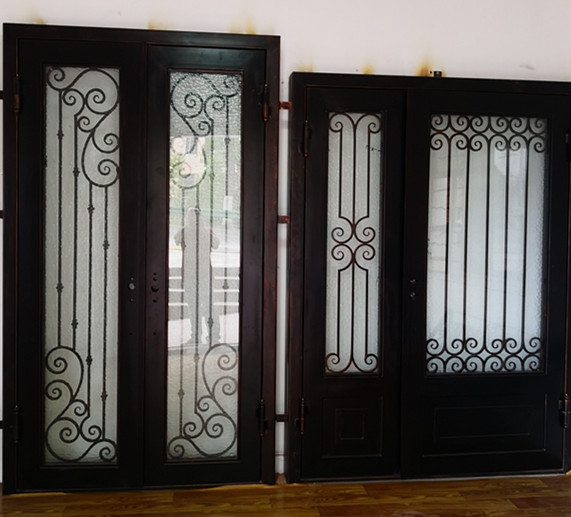 Hench 100% Custom Made Iron Doors  Model Hc-id7