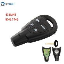 Okeytech 4 кнопки с 433 МГц id46 7946 чип замена пульта дистанционного