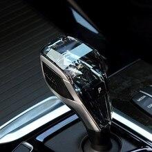 Pour X6 série F16 G06 modèle cristal bouton de vitesse universel changement de vitesse cristal accessoires pièces manuel manette