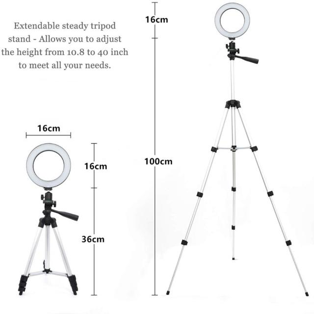 Ring Light phone Tripod  2