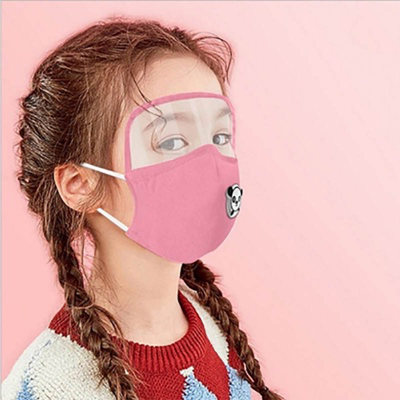 Kids Masks for virus protection Face Mask Antivirus for Kids mouth mask Cotton Mask with Goggles for face fashion 1pc|Masks|   - AliExpress
