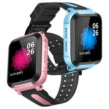 IP67 wodoodporna inteligentny lokalizacja gps SOS otrzymać telefon zwrotny od monitor zdalny aparat zegarek Tracker dla dzieci dziecko studenci Facebook Whatsapp zegarek